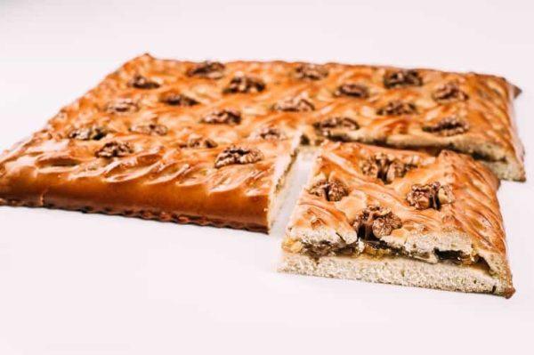 Пирог с грецкими орехами и абрикосами на сайте edakdomu.ru