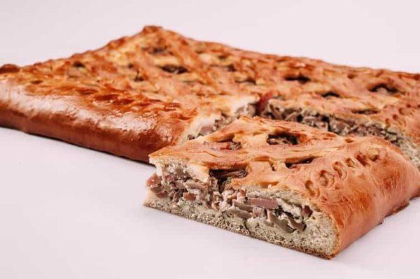Пирог с ветчиной и грибами на сайте edakdomu.ru