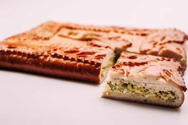 Пирог с зеленым луком и яйцом на сайте edakdomu.ru