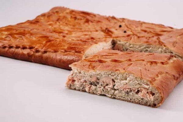 Пирог с лососем на сайте edakdomu.ru