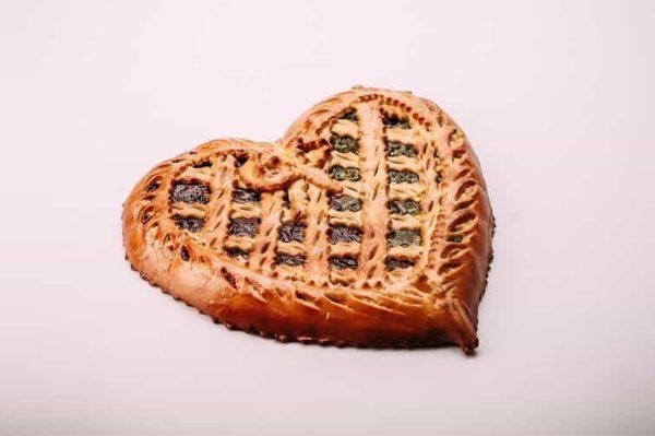 Пирог в форме сердца на сайте edakdomu.ru