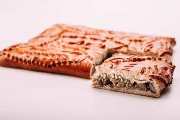 Пирог с лесными грибами на сайте edakdomu.ru