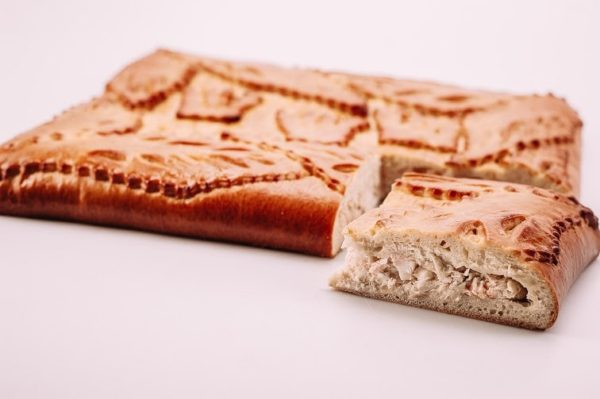 Пирог с лососем и треской на сайте edakdomu.ru