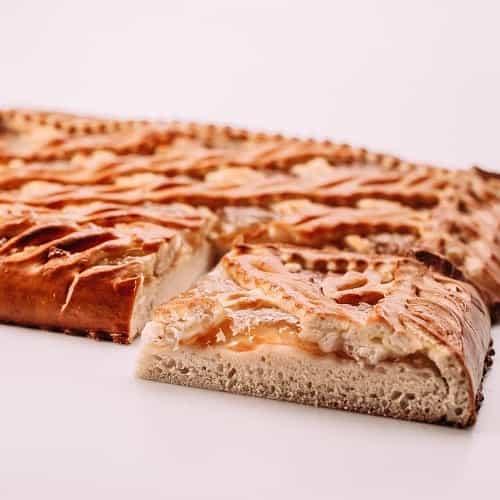 Пирог с персиками на сайте edakdomu.ru