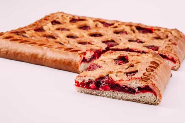 Пирог с яблоками и брусникой на сайте edakdomu.ru