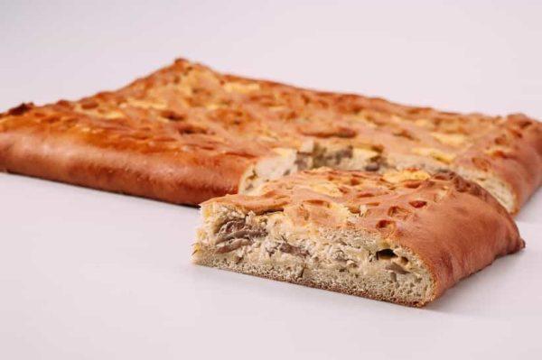 Пирог с сыром и грибами на сайте edakdomu.ru