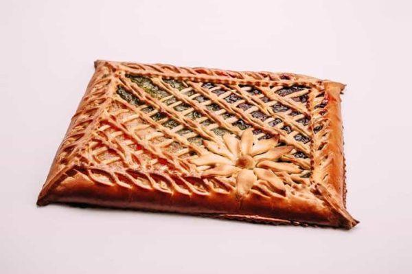 Пирог три фруктовых начинки на сайте edakdomu.ru