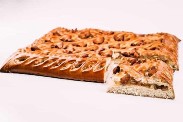 Яблочный пирог с миндалем и корицей на сайте edakdomu.ru