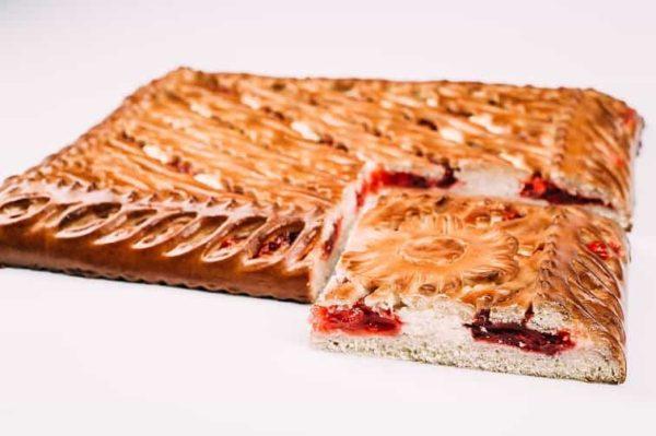 Пирог с брусникой и творогом на сайте edakdomu.ru